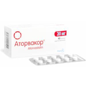 Таблетки Аторвакор фото